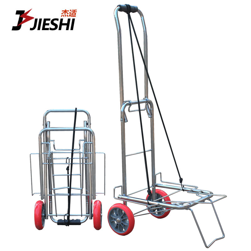 Riders pull carts portable folding luggage trolley car trailer cart shopping cart small pull a cart to pull a cart load king