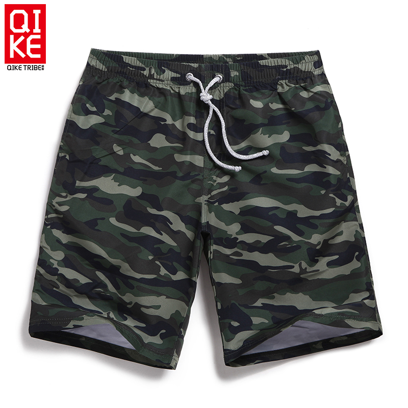 Riding off sugan seaside resort beach pants men's casual pants camouflage shorts sports summer influx of large size five pants