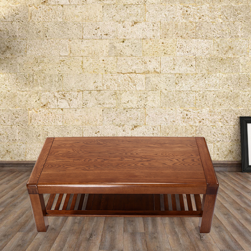 Rifa dalian bright authentic furniture wood coffee table coffee table wood coffee table furniture