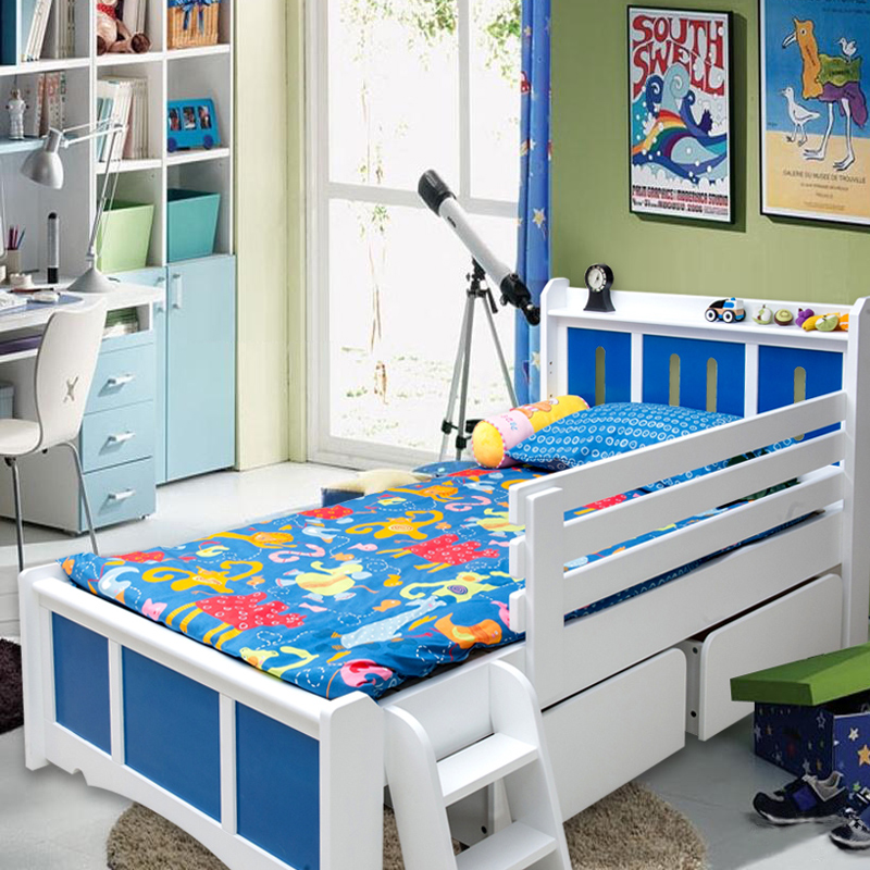 Rifa dalian bright furniture wood furniture children's beds children's bed wood bed children's furniture