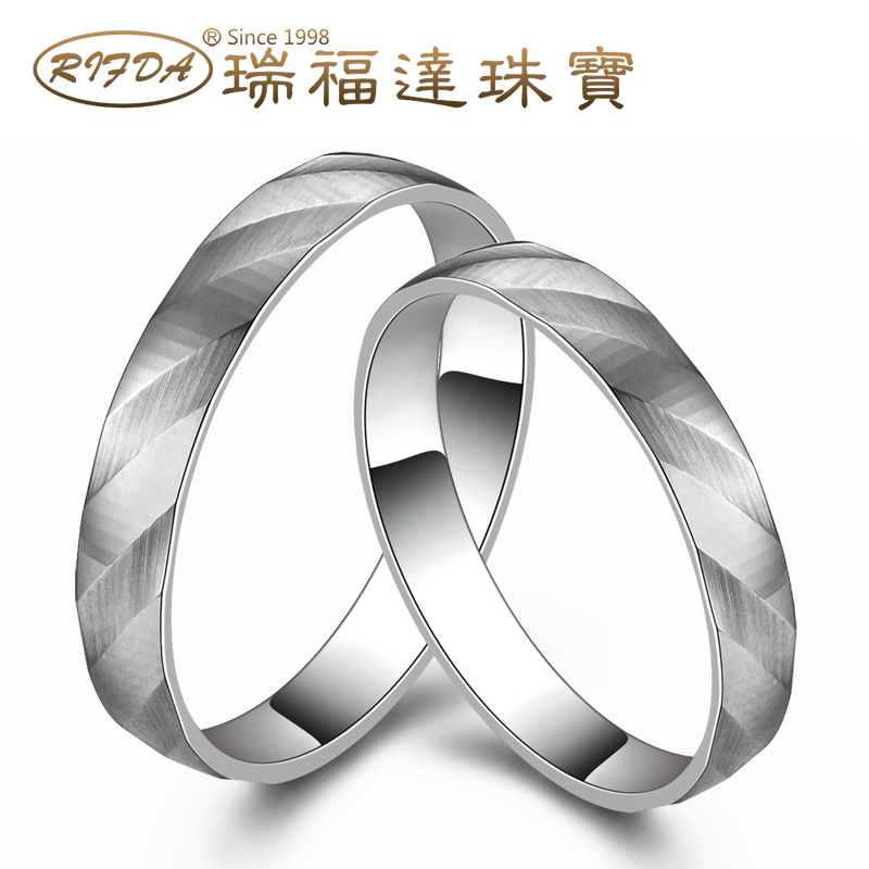 Rifda/rui faldan k yellow and rose gold ring k gold ring wedding ring for male and female couple on the ring