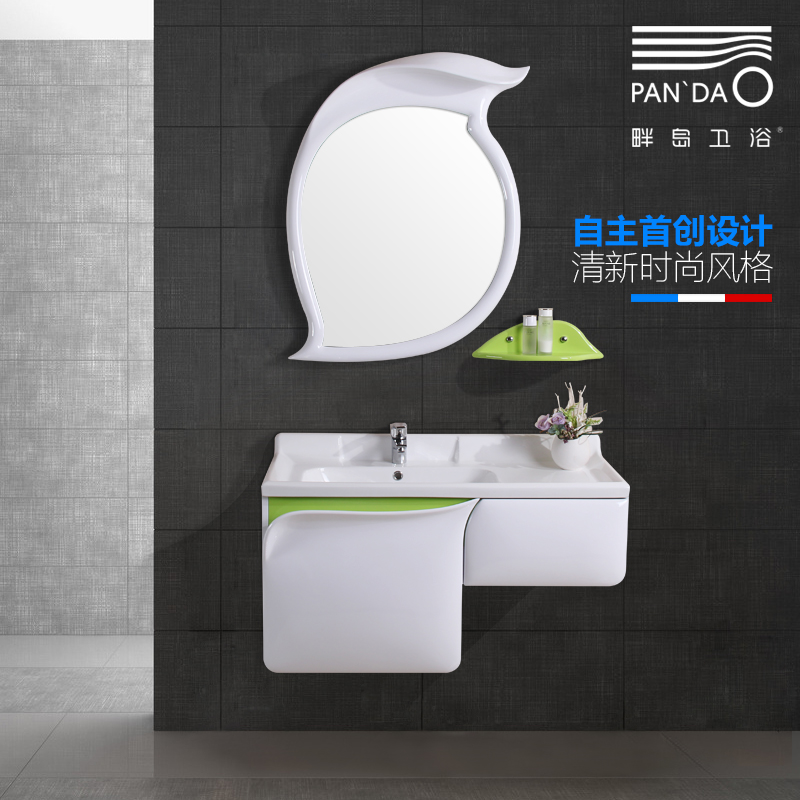 Get Quotations · River Island New European Solid Wood Bathroom Cabinet  Basin Cabinet Combination Bathroom Wall Cabinet Bathroom Cabinet