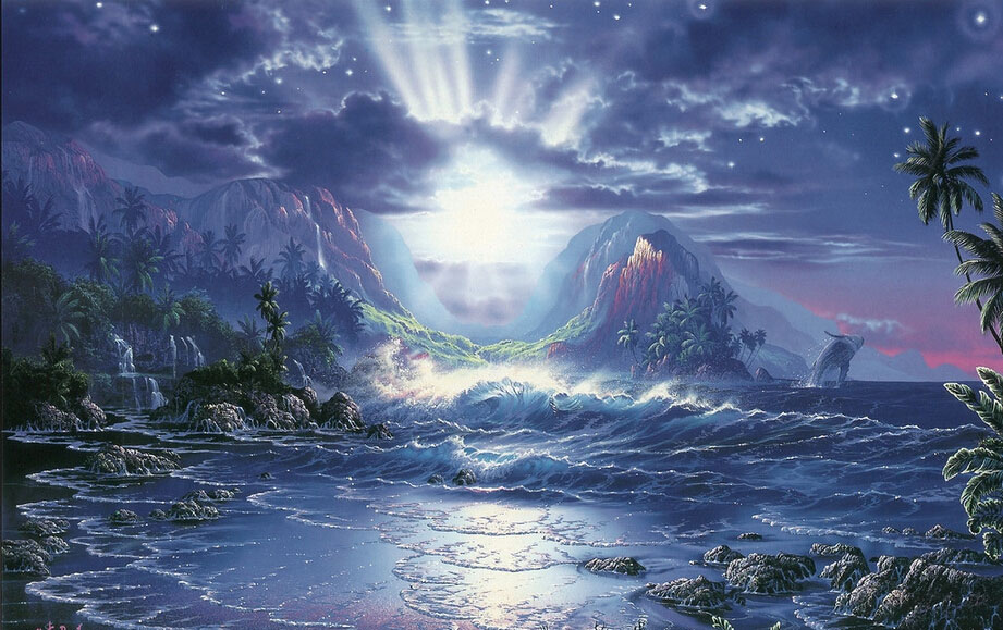 [Robinson] adult art thanmonolingualsat 1000 wooden jigsaw puzzle 500 cartoon comics fantasy seascape beautiful scenery