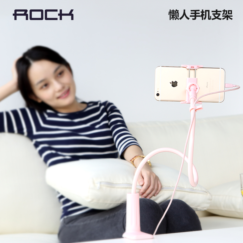 Rock iphone6 lazy stand bedside phone holder desktop stand lazy bracket apple universal version of the artifact