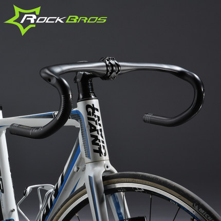 Rockbros bike carbon fiber bend the road bike bmx broken windmill 31. 8*400/420/ 440