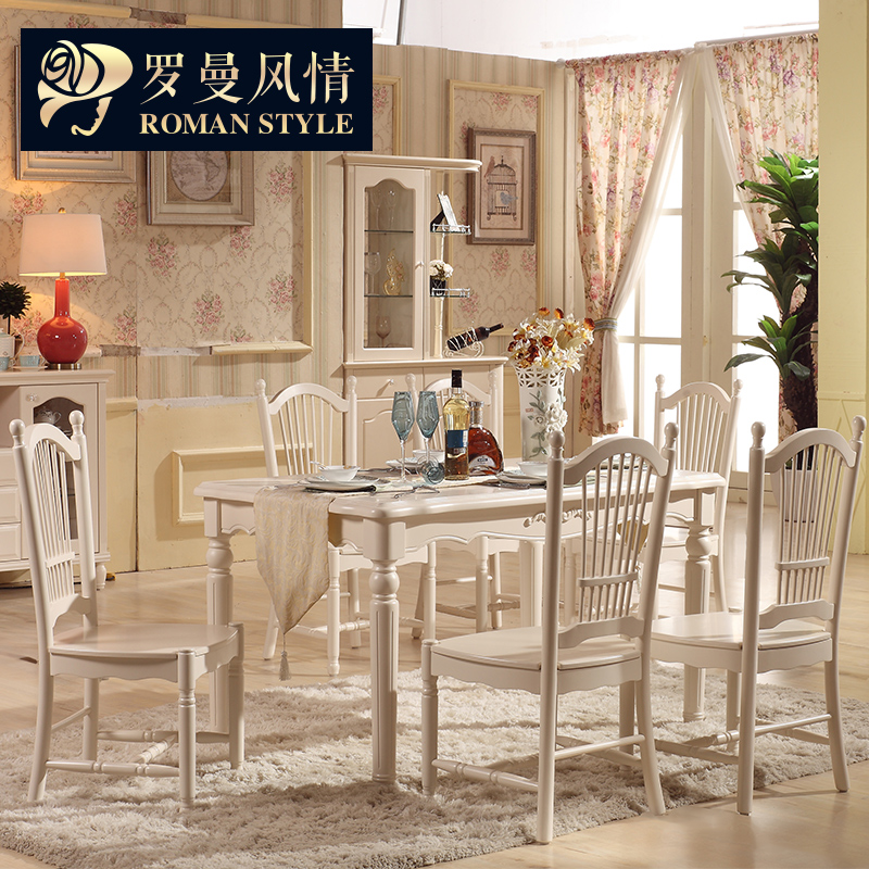 China old style chairs china old style chairs shopping guide at get quotations roman style dinette combination of solid wood dining table and chair of european oak dining table watchthetrailerfo