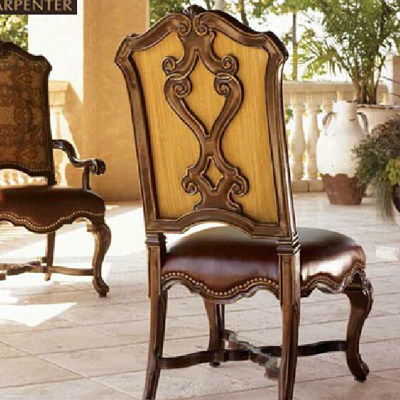 Royal carpenter number one american country restaurant furniture upscale american wood dining chairs without armrests chair custom