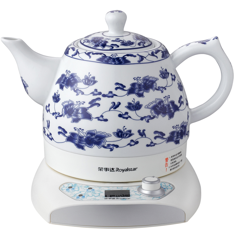 Royalstar/rongshida tc1060 ceramic electric kettle 304 stainless steel kettle kettle genuine