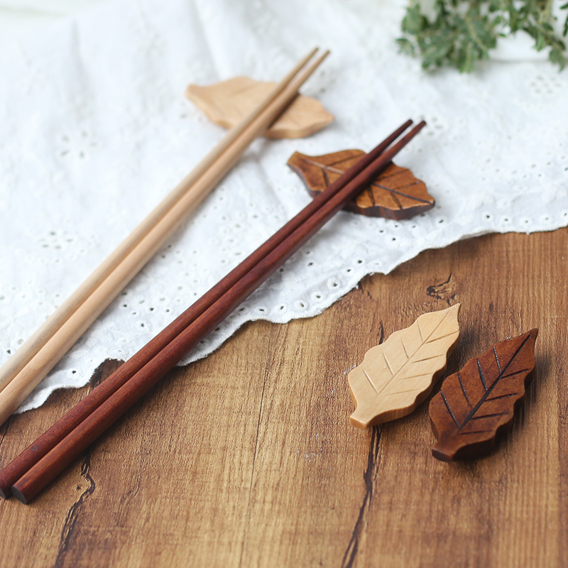 Rui rui sen creative japanese wood chopsticks holder wooden home handmade wood chopsticks chopsticks chopsticks pillow care chopsticks chopsticks chopsticks chopsticks holder care