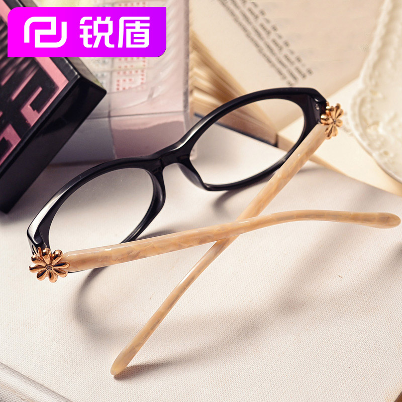 Rui shield small fragrant female eye glasses frame plate glasses frame myopia retro glasses frames myopia little face female