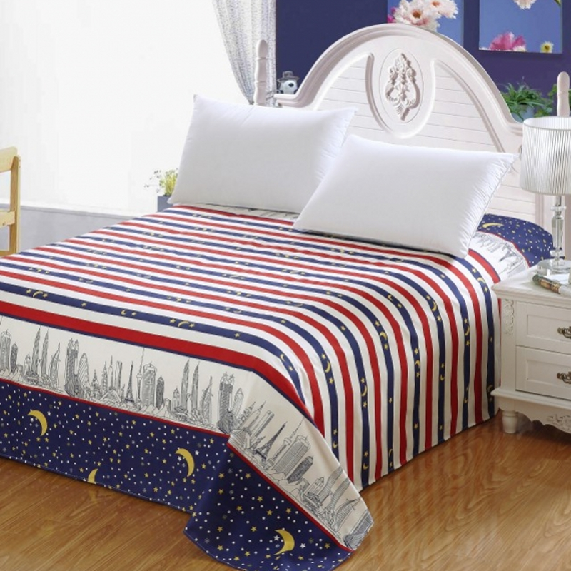 Safeguard levin 1.8 m bed linen sheets single double student dormitory bed linen spring and autumn 1.5/1.6/2.3 m