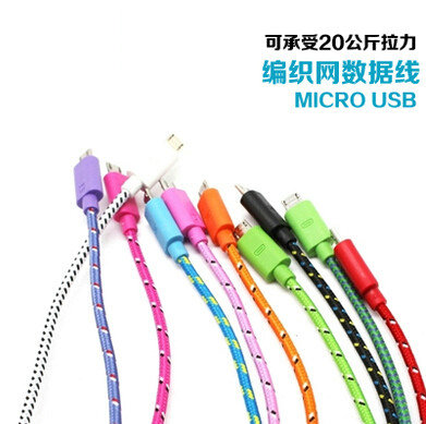 Saiwk high speed micro usb data cable andrews smartphone universal charger line fast lengthened