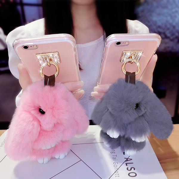 Samsung samsung note4 note4 phone shell n9200 new n9100 silicone note5 female models diamond creative plush not e7 han