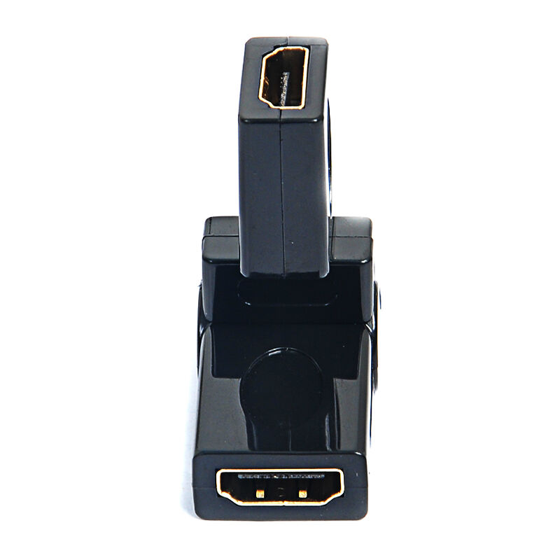Sanbao SH-F36 hdmi female-female hdmi hdmi female to female adapter rotating 360 degree free rotation