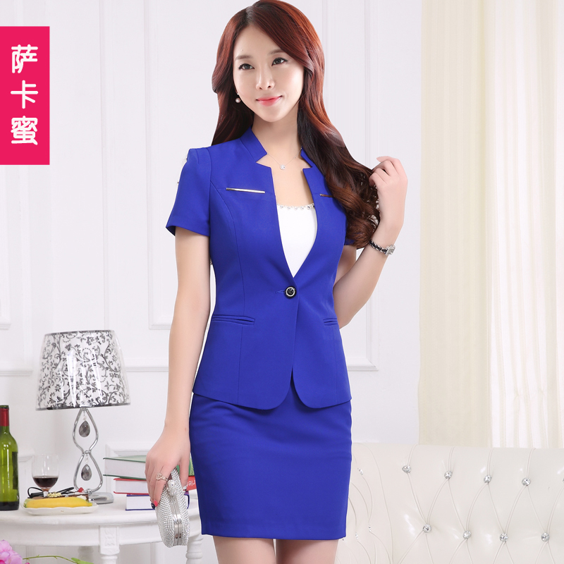 Sarkar honey 2016 summer new korean short sleeve ol ladies wear skirt suits small suit 3149