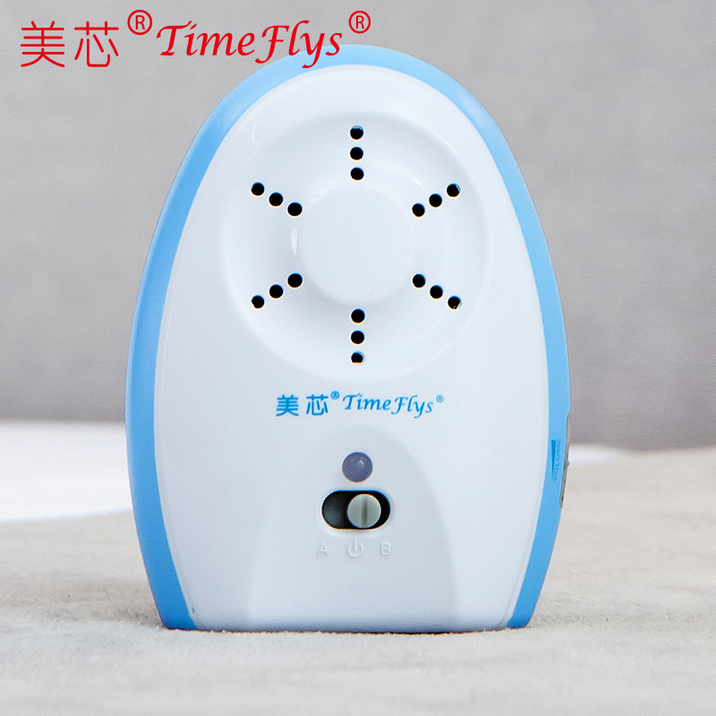 Sbc baby monitor wireless monitor monitor instrument sounds crylng listening reported to the police parents machine blue
