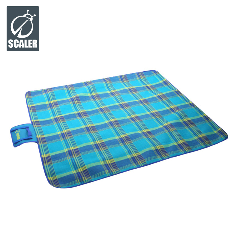 Scaler scaler outdoor moisture pad thick waterproof two ground cloth mat outdoor picnic mat picnic mat
