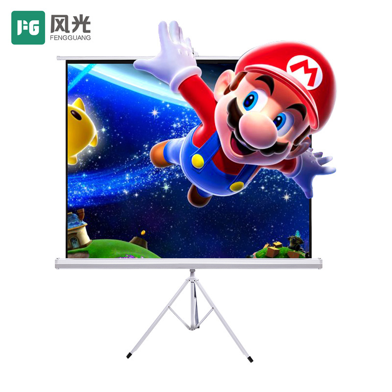 Scenery (fg) projector screen projector screen: 4 to 3 bracket 100-inch screen 84 inch
