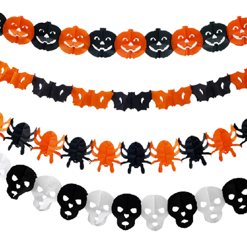 School children activities garland halloween decorations halloween haunted house supplies scene layout kito spider pumpkin garland