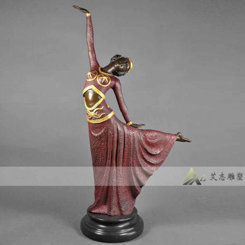 [Sculpture] yizhi DS-209B bronze crafts european statues crafts ornaments gifts