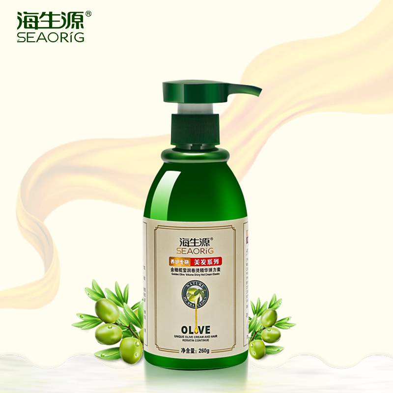 Sea biogenic gold olive elastin (hot roll type) 260g moisturizing styling hair care dedicated hair styling punta