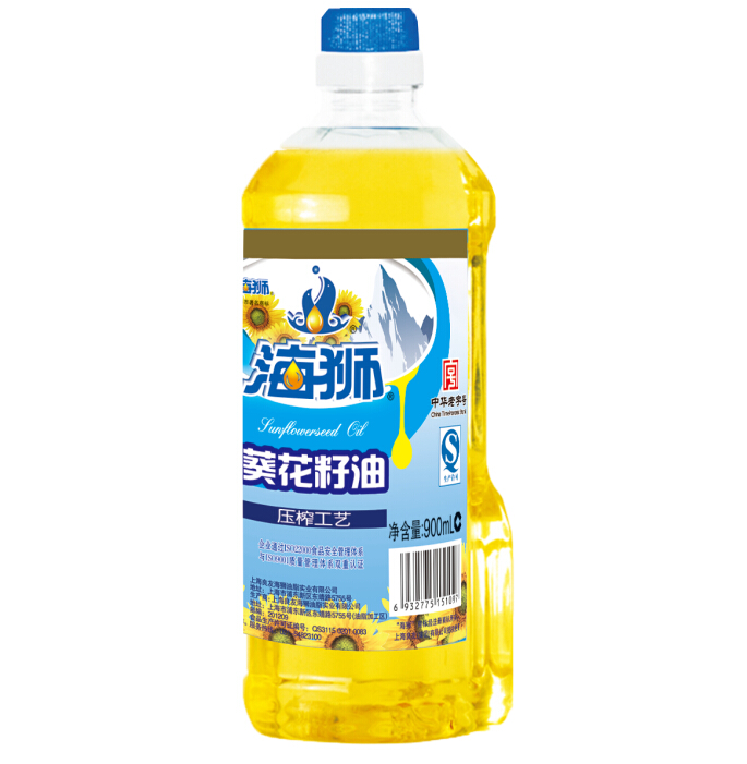 Sea lions edible oil sunflower oil 900 ml new generation of edible oil value hot pressing process