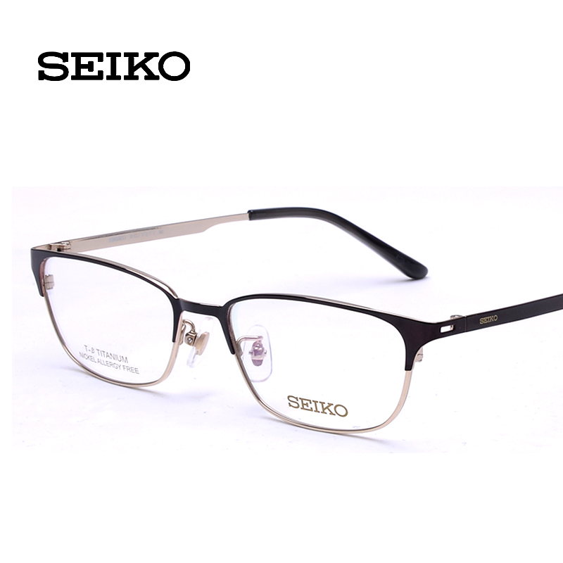 Seiko genuine seiko seiko titanium glasses frame glasses full frame glasses frame myopia men women hc1017