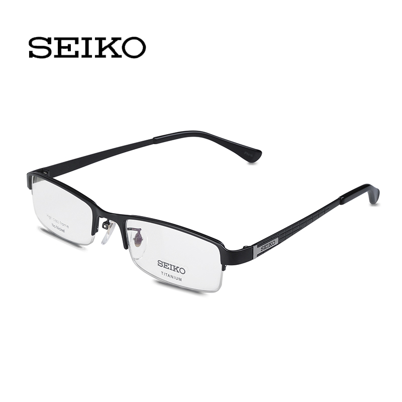 8212504fcf Buy Seiko seiko titanium eyeglass frame business half frame myopia frames  men hc1004 in Cheap Price on Alibaba.com