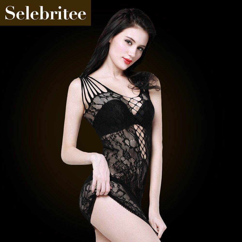 Selebritee seamless package hip nightclub sexy tight netting sexy lingerie hollow package hip skirt 214