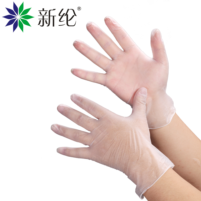 Selen 12 inch thousand grade pvc disposable beauty experiments labor protective gloves rubber gloves gloves food gloves