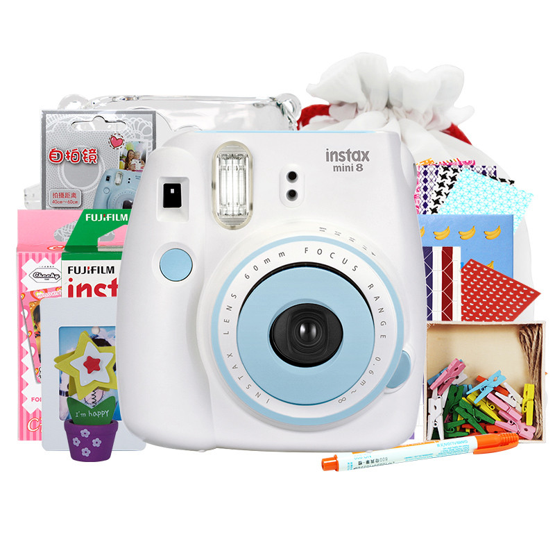 Selfies instax mini8 fuji polaroid fun odd time imaging camera camera camera beauty white