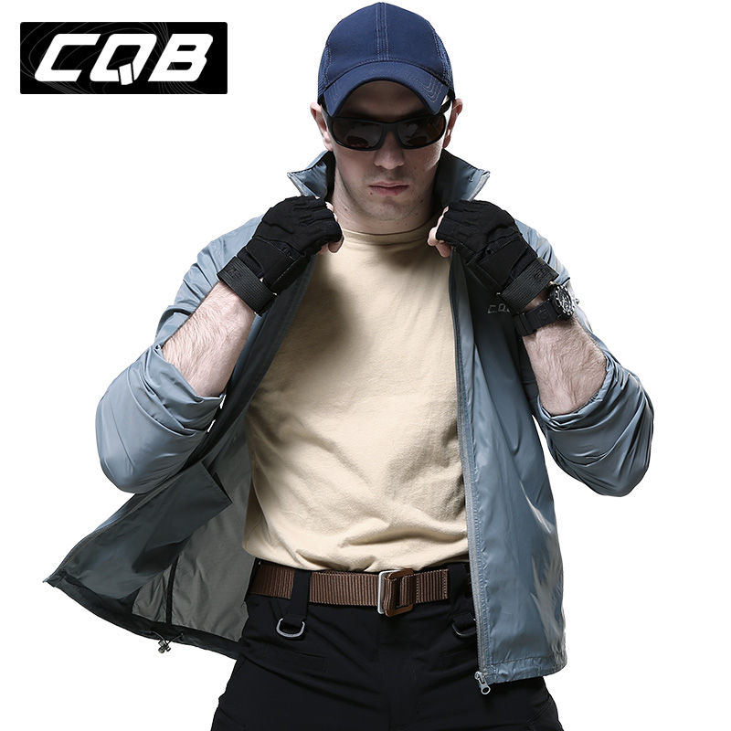[Selling] cqb skin clothing sun protection clothing for men summer thin breathable windproof water repellent and tactical clothing sun protection clothing Male