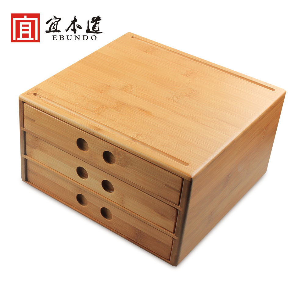 Selling points pu'er tea tray kung fu tea accessories bamboo tea cake tea boxes open tea tea tray with tea zero knife