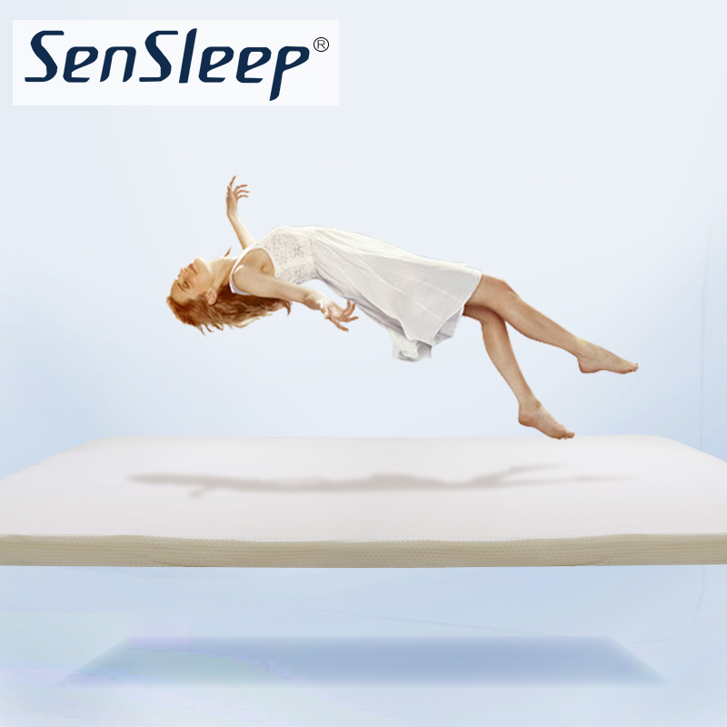 Sensleep folding foam mattress double memory foam mattress mattress tatami mat 1.5 m bed