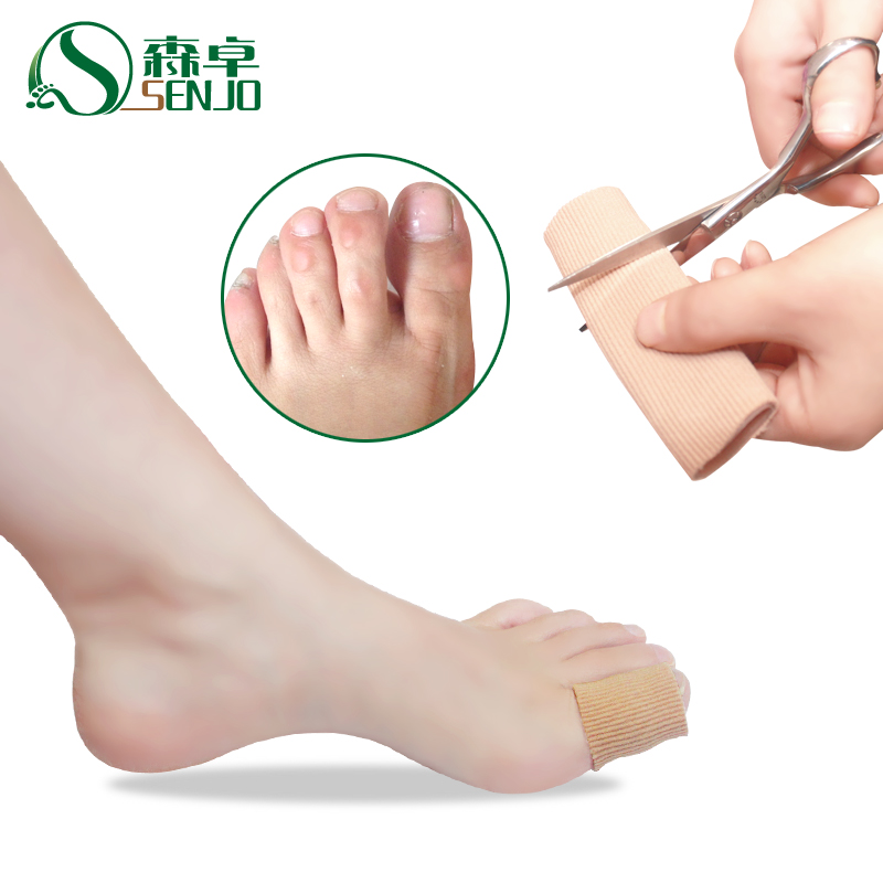 Senzhuo toe joints cocoon toe sets foot toe hallux valgus toe sets of silicone protective sleeve [toes anti friction extrusion ]