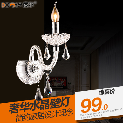 Seoul degree atmosphere of european crystal lamp living room bedroom crystal wall lamp bedroom living room wall lamp wall lamp
