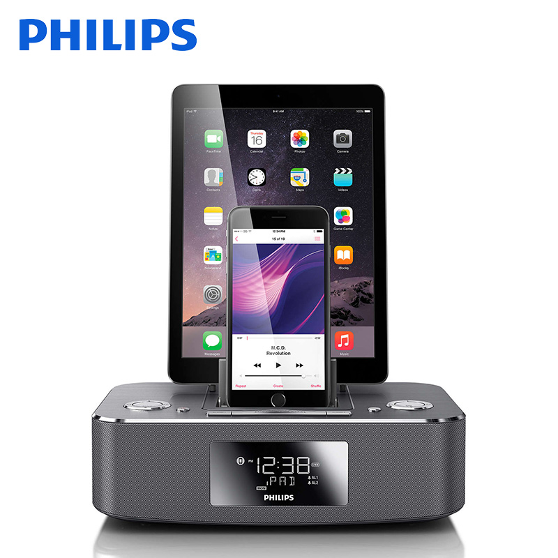 Sf philips/philips DC395 apple iphone6s/6 plus/ipad dock stereo music