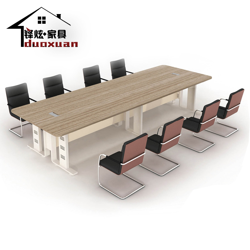 Shanghai duo xuan office furniture minimalist modern office conference table conference table negotiating table plate specials