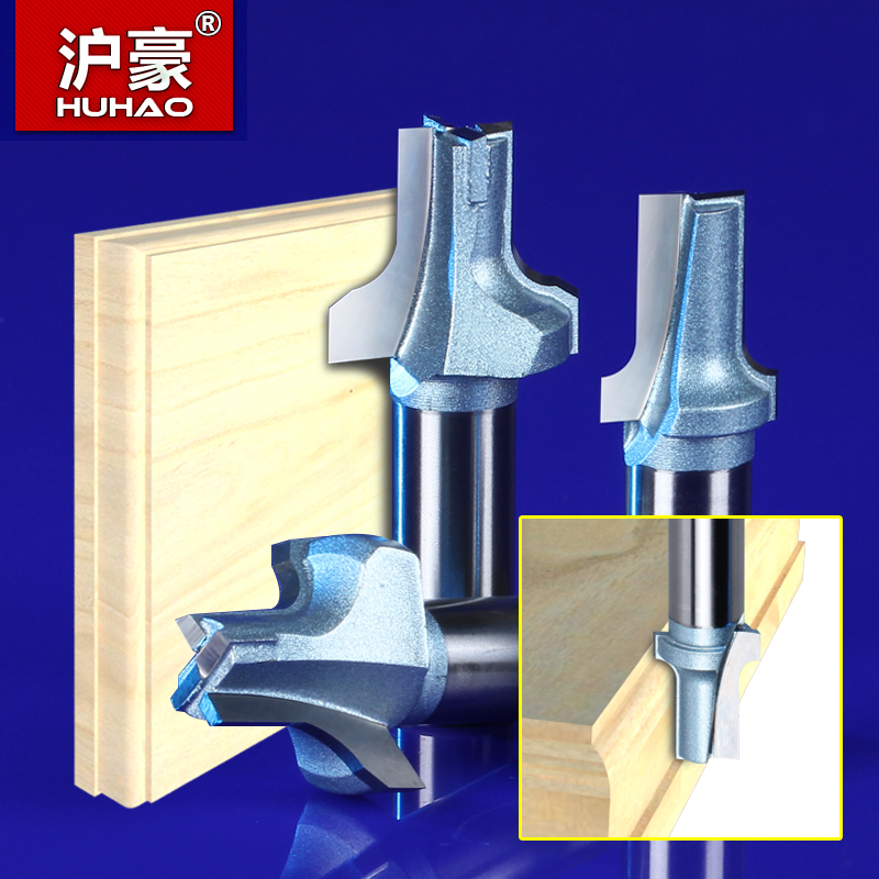 Shanghai hao woodworking tool cabinet door clear bottom cutter knife straight edge chamfering blade circular knife cutting chamfering Forming a