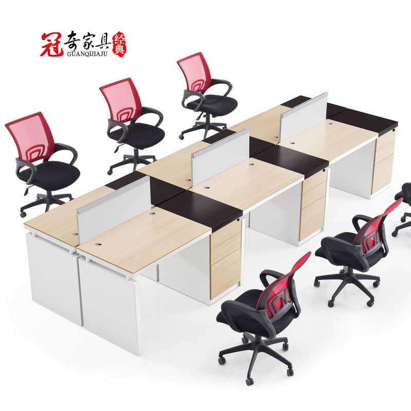 Shanghai office furniture desk staff minimalist modern office furniture combinations bando guanqi work desk employees