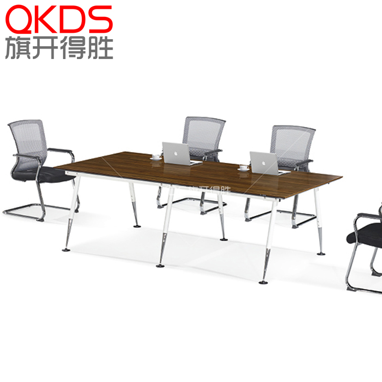 Shanghai office furniture simple minimalist modern office conference tables and chairs bar table conference table specials