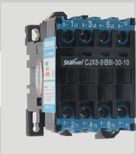 Shanghai people's electric ac contactor cjx8-9-30-10 b9 v or 380 v electrical on china