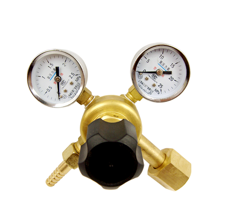Shanghai regulator factory yqy-752 (small cylinder only) on by brand oxygen regulator oxygen meter