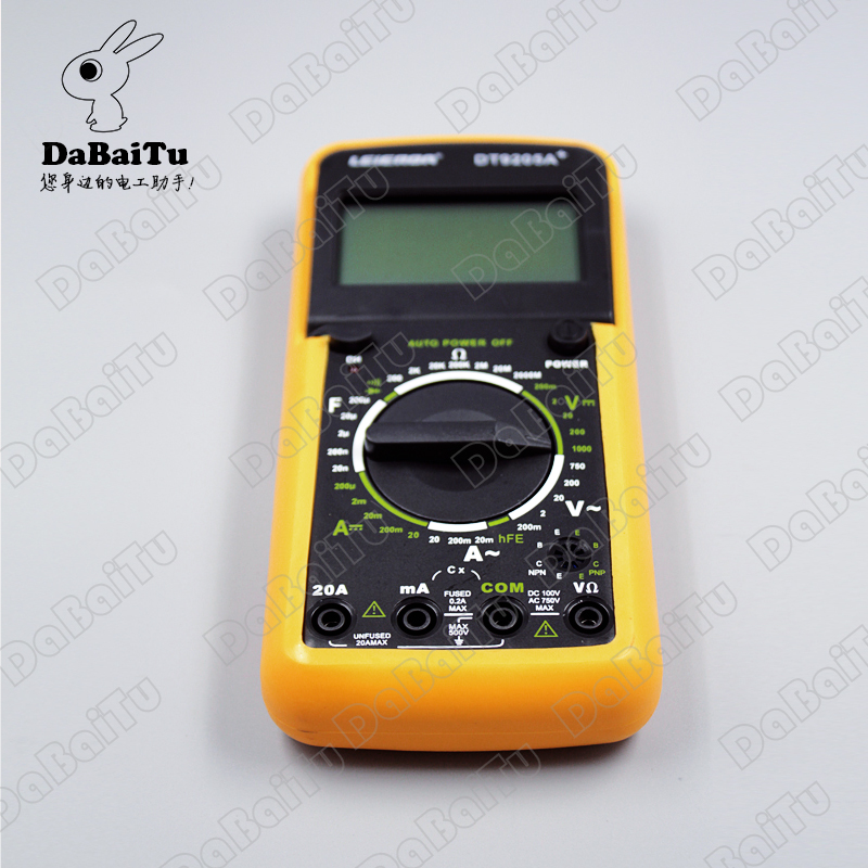 Shanghai sichuan instrument/leier da instrument RD9203 precision digital multimeter four and a half (leierda)