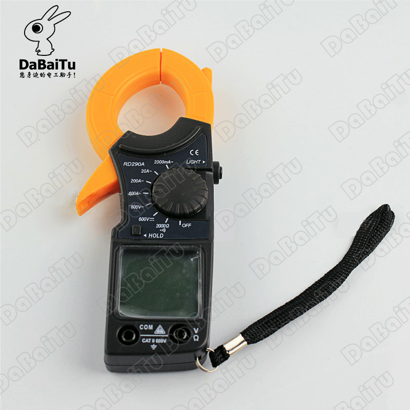 Shanghai sichuan instrument/RD290A leier da instrument digital multimeter digital clamp meter with battery meter pen