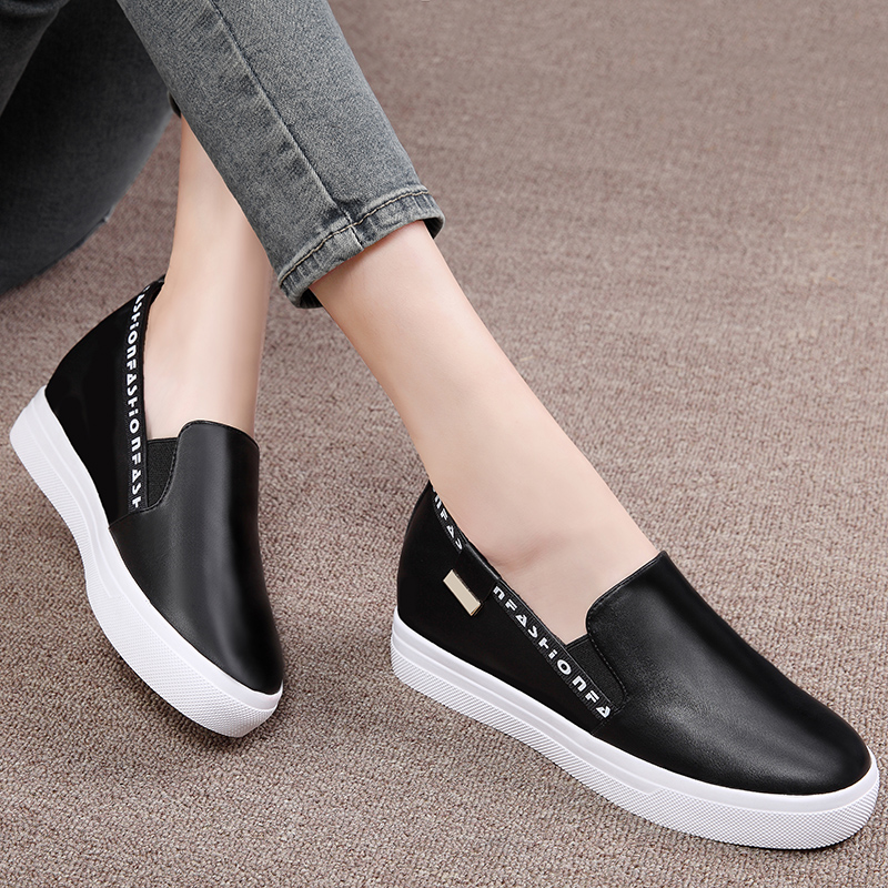 Shield fox 2016 spring new carrefour shoes women shoes flat bottomed shoes women casual shoes women shoes korean version of thick crust