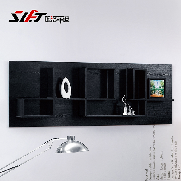 Shiluofeidi office furniture commercial display cabinet boutique shelves showcase showcase showcase fashion closet wall cabinet