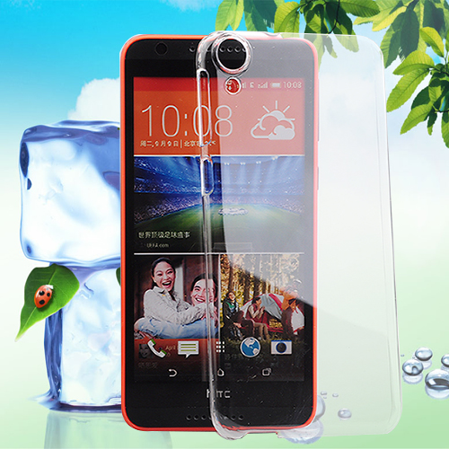 Shor htc d820u/s thin transparent protective hard shell mobile phone sets HTCD820T adelomorphic Desire82 0