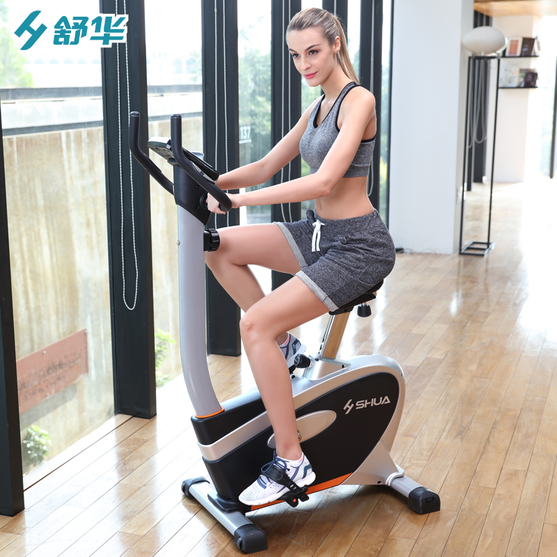 Shu hua home exercise bike mute indoor vertical magnetic exercise bike bike sandwichs jian upright bike SH-827
