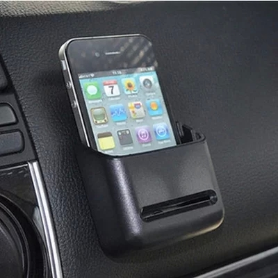 Shun wei car phone holder multipurpose adhesive sticky paper storage box glove box iphone 4s phone holder